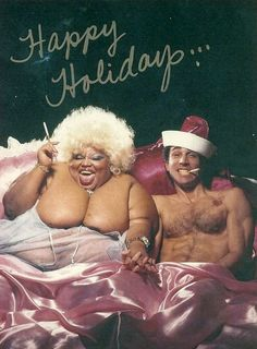 Happy Holidays... Model: Jean Hill #Christmas