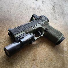 "gundoseig: "" OD Green  via @beardlyp follow @glocksdaily """