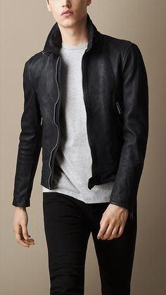 Burberry Brit Leather Jacket