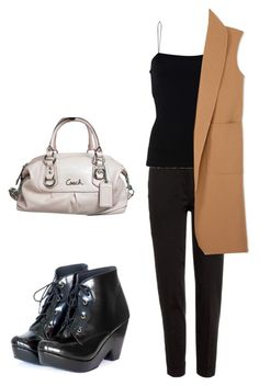 """""""Casual"""" by felisialuissela on Polyvore featuring Etro, T By Alexander Wang, Alexander Wang and Coach"""