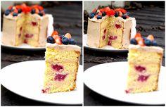 sweet melange: Made with love - Limetkový dort s lesním ovocem zjemněný ganache z bílé čokolády