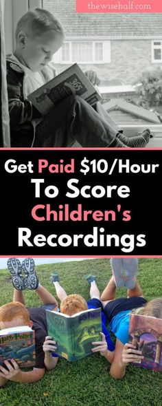work at home that pays you to scrore children's recordings. Earn as much as $20/ hour. online-transcriber. literably-review