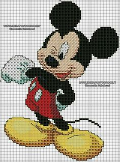 1 million+ Stunning Free Images to Use Anywhere Cross Stitch Baby, Cross Stitch Charts, Cross Stitching, Cross Stitch Embroidery, Mickey E Minnie Mouse, Disney Cross Stitch Patterns, Canvas Designs, Tapestry Crochet, Plastic Canvas Patterns