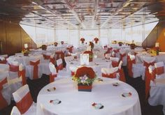 Wedding Reception Area Yacht Wedding Setups for Boat Weddings in Newport Beach Boat Wedding, Yacht Wedding, Wedding Set Up, Wedding Tags, Wedding Reception, Wedding Ideas, Newport Beach, Charter Boat, Reception Areas