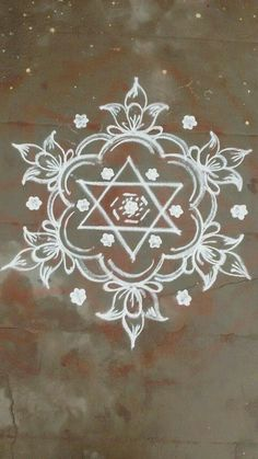 Indian Rangoli Designs, Simple Rangoli Designs Images, Rangoli Designs Latest, Rangoli Designs Flower, Latest Rangoli, Rangoli Patterns, Rangoli Ideas, Rangoli Designs With Dots, Kolam Rangoli