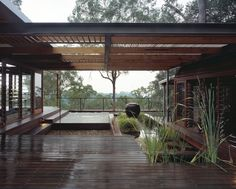 Bowen Mountain Residence by CplusC Architectural Workshop Nestled in the dense bushland of Bowen Mountain, an elevated rural region adjoining the Blue Mountains National Park in New South Wales with views back to Sydney.