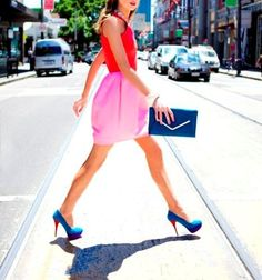 adore color blocking