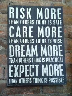 Risk more than others think is safe...wooden sign $29.99 www.facebook.com/villageherbshop
