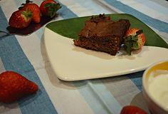 Soy de Cuchara | Brownie con Fresas (Gluten Free)