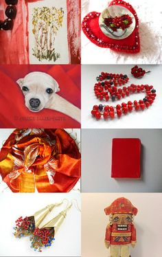 Day Of The Red by Lyra on Etsy--Pinned with TreasuryPin.com