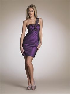 One-shoulder Sheath Purple Mini With Rosette Prom Dress PD1180 http://www.simpledresses.co.uk/one-shoulder-sheath-purple-mini-with-rosette-prom-dress-pd1180-p4157.html £76.0000