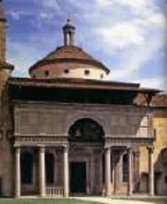 Filippo Brunelleschi, esterno della cappella dei Pazzi, 1429, Firenze