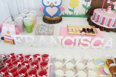 Festa coruja // owl party