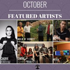 October featured artists are now up! What great diversity this month. www.musictalks.xyz/?utm_content=buffer4e97d&utm_medium=social&utm_source=pinterest.com&utm_campaign=buffer