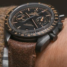 Omega Speedmaster Dark Side Of The Moon Watch Hands-On In All Four New Colorways Hands-On #Watches
