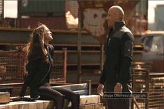 PIC: Deepika Padukone and Vin Diesel's candid moment