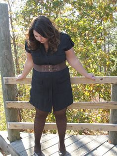 "Hems for Her Trendy Plus Size Fashion for Women: ""BLACK"" Out? ""BROWN"" Out? Wear It All Out!"