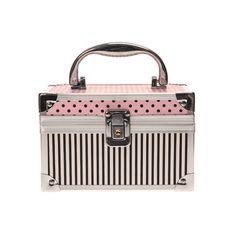 Pink Spots and Stripes Lock Box