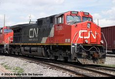 Canadian National GE C44-9W # 2200