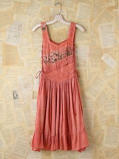Free People Vintage Floral and Lace Dress
