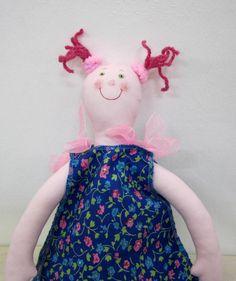 Doll  - Handmade - stuffed $16 Bird Mobile, Dolls, Handmade, Stuff To Buy, Baby Dolls, Hand Made, Doll, Craft, Girl Dolls
