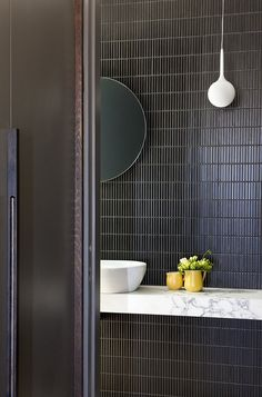 Adorable Emily Henderson bathroom trends 2019 The post 10 of the Most Exciting Bathroom Design Trends for 2019 appeared first on Interior Designs . Bathroom Trends, Bathroom Sets, Bathroom Renovations, White Bathroom, Remodel Bathroom, Small Bathrooms, Bathrooms Decor, Minimal Bathroom, Boho Bathroom