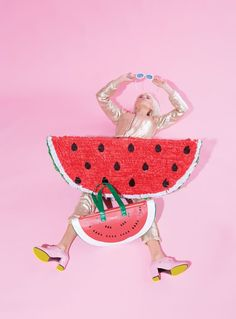style: watermelon our watermelon bag is officially a national obsession, so join…
