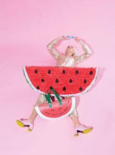 watermelon editorial #fashion @pixiemarket #pixiemarket