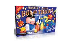 Marvins Magic Box Of Tricks Packaging