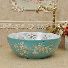 Searching for affordable Lavabo in Home Improvement, Bathroom Sinks, Kitchen Sinks, Basin Faucets? Buy high quality and affordable Lavabo via sales. Enjoy exclusive discounts and free global delivery on Lavabo at AliExpress Turquoise Cottage, Turquoise Bathroom, Estilo Shabby Chic, Tuscan Design, Tuscan Style, Bathroom Design Luxury, Bathroom Designs, Bathroom Ideas, Mediterranean Home Decor