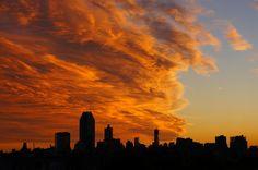 Fiery Sunset in Astoria (Taken by Alex)