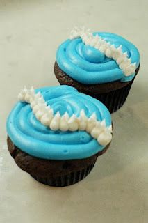 Spine Cupcakes: perfect for a post-op or recovery party or last go before surgery.