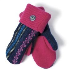 Recycle Girl adult mittens, $45 at Green Genes