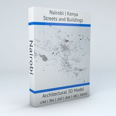 Nairobi Streets and Buildings | 3D model