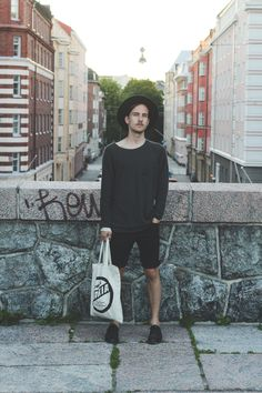 Streetstyle Helsinki - My outfit - Men's style - Makia Clothing