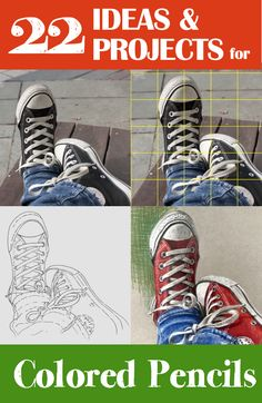 Go here >> http://resources.arttutor.com/coloured-pencil-references-pn/ for 22 reference image packs containing outline drawings, gridded reference photos, materials list and final artwork.