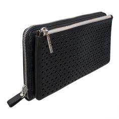 Musette Wallet in Black - Jamin Puech