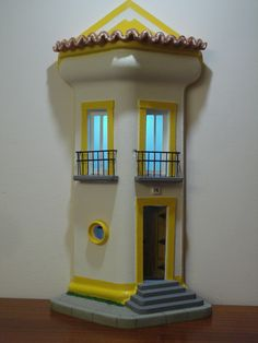 telha com iluminação Casa alentejana com LED bateria 12v