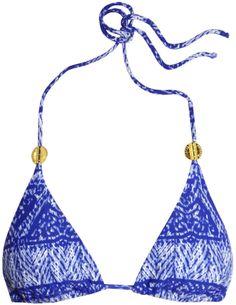 Vix Swimwear Carioca printed triangle bikini top on shopstyle.co.uk