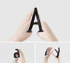 Beautiful Handmade Type (see what she did there?) by Tien Min Liao #HandmadeType #Typography #Type #Alphabet: