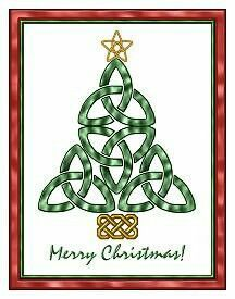 Celtic Christmas Tree | Urban Threads: Unique and Awesome ...