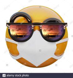 Stock Photo - render of yellow emoji face with sunglasses and medical mask protecting from coronavirus MERS-nCoV - Emoji - Emoticon - Ios Emoji, 3d Wallpaper For Mobile, Emoji Mask, Qhd Wallpaper, Emoji Images, Funny Emoji, Mini Tattoos, Smile Face, Anime Chibi