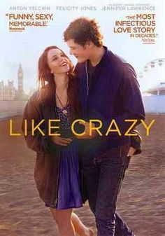Drake Doremus' romantic drama LIKE CRAZY stars Felicity Jones as Anna, a British girl who comes to America to attend college. In Los Angeles she falls madly in love with fellow student Jacob (Anton Ye