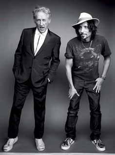 Artist Ed Ruscha, pictured w son Eddie. The 10 Most Stylish Men in America, NY Daily News