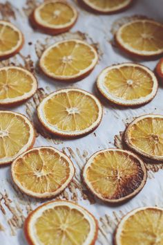DIY Dried Orange Holiday Garland | Free People Blog #freepeople