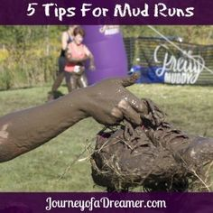 5 Tips for Running a Mud Run! Pretty Great advice for anyone gearing up for a Pretty Muddy Women's Mud Run! #toneituptuesday