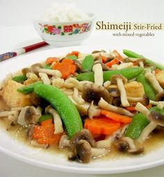 Best Mix Shimeji Mushroom Recipe on Pinterest