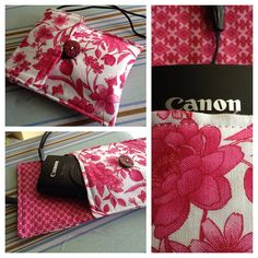 Easy sewing project: Camera or gadget case!