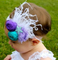 Under The Sea Birthday  - Little Mermaid Party - Under the Sea Headband - Starfish Headband by RoyalSistersBoutique on Etsy https://www.etsy.com/listing/199409362/under-the-sea-birthday-little-mermaid