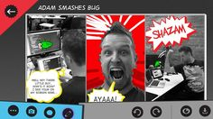Comic Director // makes it easy to create awesome comics and share them with your friends! Use your own photos and video to create fun short comics to illustrate your life. Once you've added your photos, expand the comics with cool art and images that we have created for you. Trim and edit your own videos right in the app!